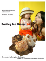 Barkley's Ice Cream Ad