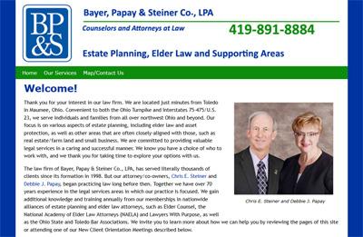 Bayer, Papay & Steiner Co., LPA website