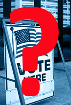 Polling sign